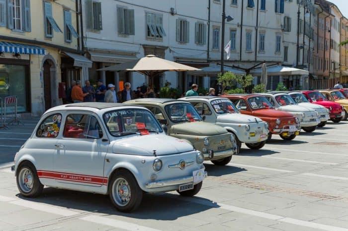 Fiat 500 tour