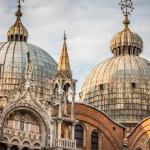 Legendary Venice: St. Mark's Basilica with Terraces and Doge's Palaces