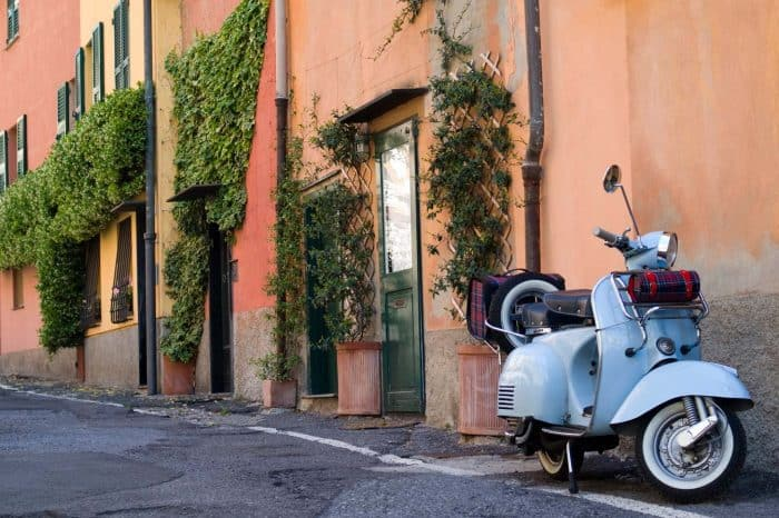 One day Vespa tour