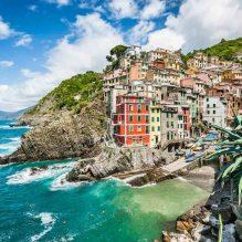 Train from Florence to Riomaggiore (Cinque Terre)