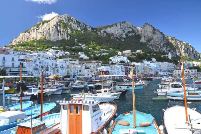 Capri day tours from Sorrento