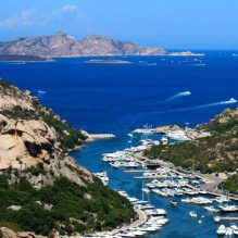 Zig-zagging Sardinia island