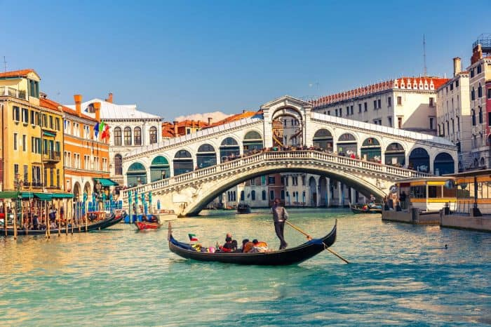 Venice in a day with St Mark's Basilica, Doge's palace and Gondola ride