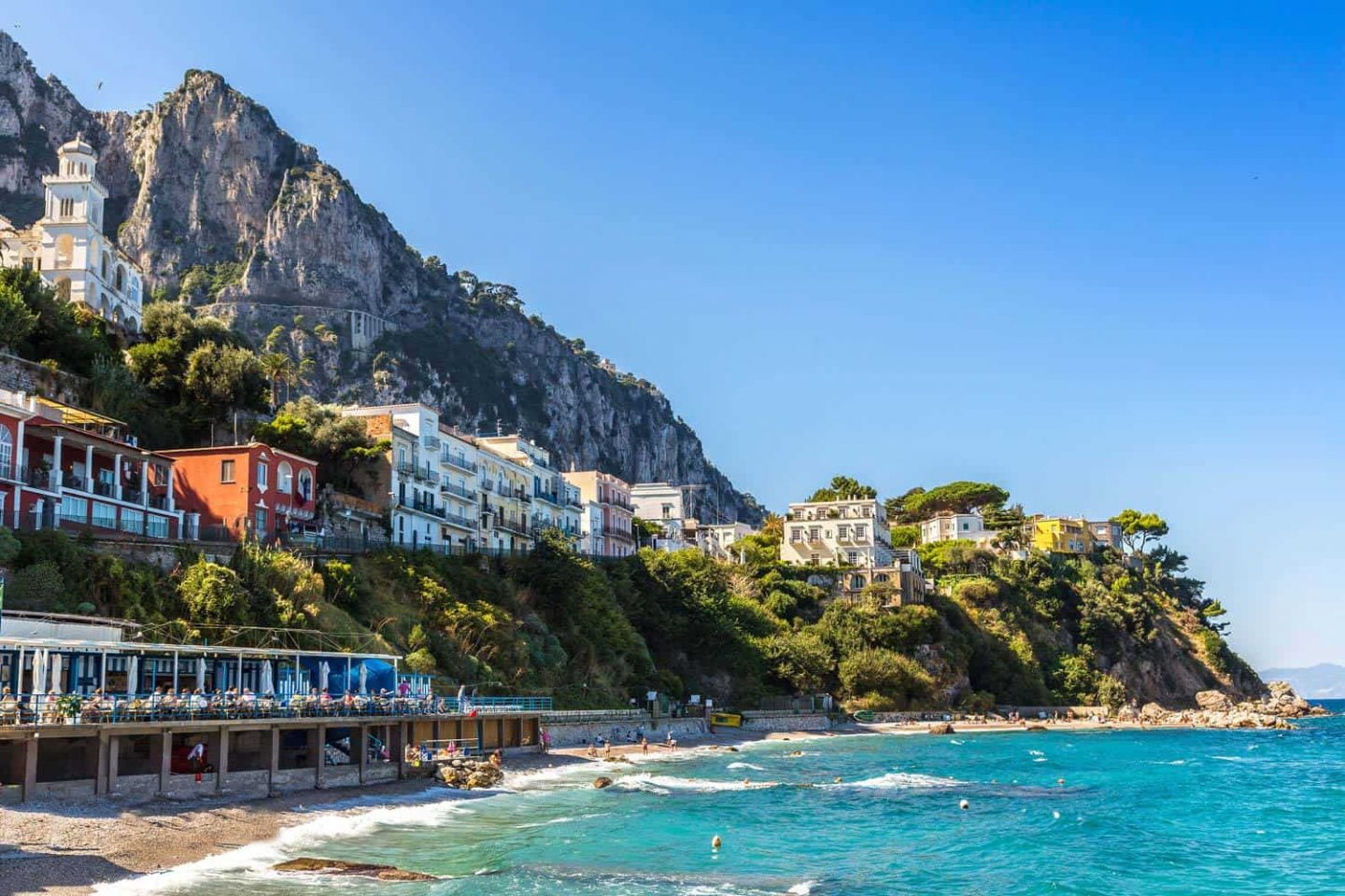 Capri day tours from sorrento officine italia for Isle of capri tours