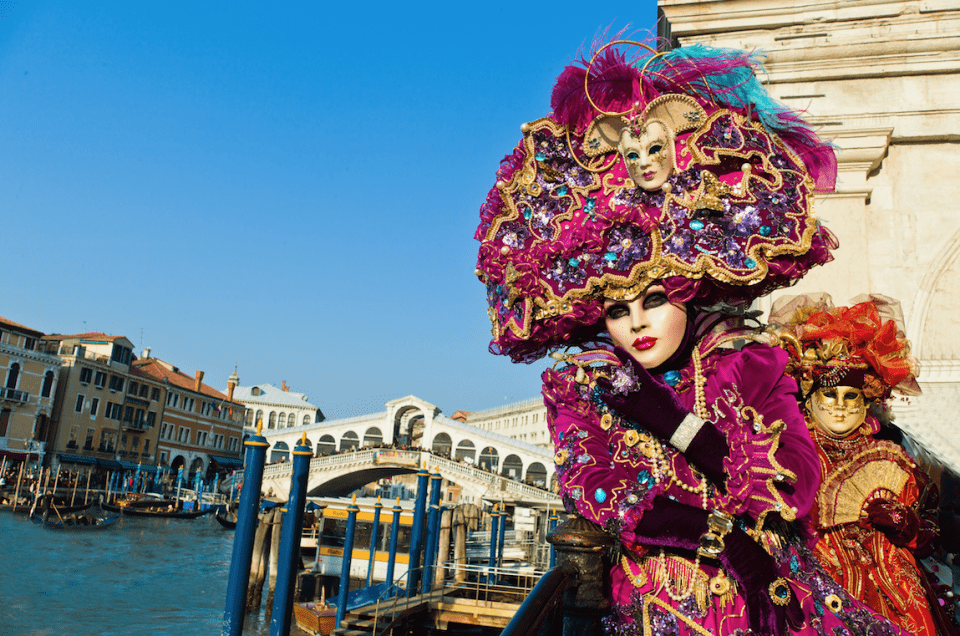 The Magical Venetian Carnival of Venice