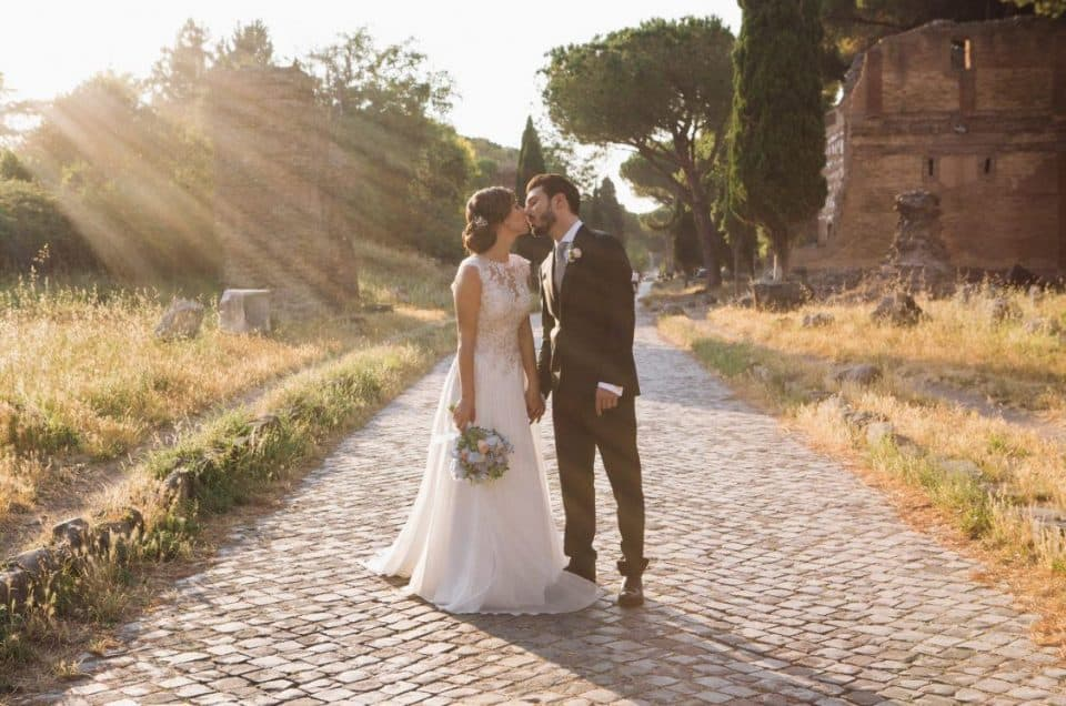The Destination Wedding in Lazio, Italy