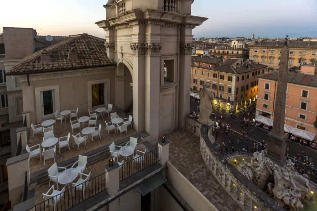 Up In Rome The Best Rooftop Bars Officine Italia