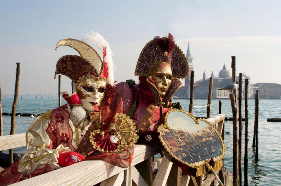 Venice Carnival, a timeless parade
